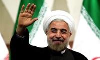 越南向伊朗总统鲁哈尼当选连任表示祝贺