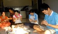 越南有关方面帮助残疾人融入社会
