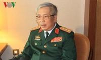 阮志咏上将会见2017-2020年任期越南驻外代表机构首席代表