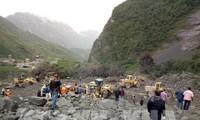 中国四川省茂县山体垮塌的失踪人员剧增
