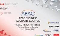 越南为加拿大第三次ABAC会议作出积极贡献