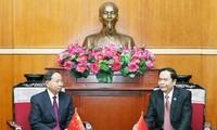 加强越南祖阵与中国全国政协的合作关系