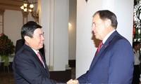 胡志明市和美国犹他州促进各方面合作
