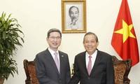 越南政府一向重视发展越南和韩国战略伙伴关系