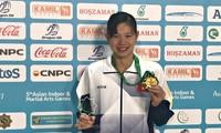越南游泳运动员阮氏映圆在AIMAG 5上刷新纪录