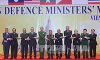 越南高级军事代表团出席东盟防长会议