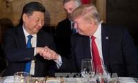特朗普开始对中国进行国事访问