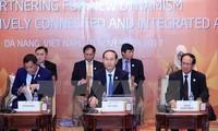 陈大光主持APEC-ASEAN非正式领导人对话会