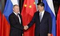 中国与俄罗斯加强在国际和地区问题上的合作
