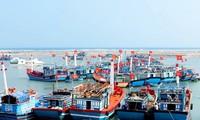 李山:渔民出海远航