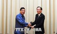 胡志明市和菲律宾大力推动贸易交流合作