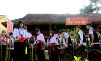 Phu Tho 성 Thanh Son현 Muong동포의 민족문화 정체성 보존
