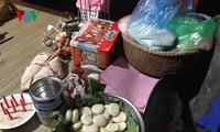 Bac Giang성 Nung 민족의 생일 잔치