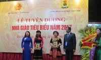 La journée des enseignants célébrée au Vietnam