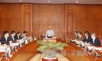 Le SG du PCV préside une réunion sur la lutte anti-corruption