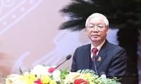 Ouverture du 11ème congrès national de l'Union de la jeunesse communiste Ho Chi Minh