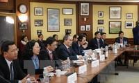 Nguyen Thien Nhan aux Etats-Unis: signature d'une convention de coopération entre deux universités
