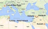 Международное сообщество резко осуждает теракты в Кувейте, Тунисе и Франции
