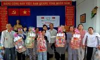 Хошимин вручил 2000 наборов новогодних подарков инвалидам и детям-сиротам