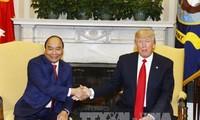 Развитие вьетнамо-американских отношений во имя миря, стабильности, сотрудничества и процветания