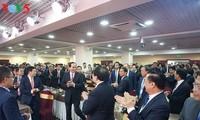 Чан Дай Куанг встретился с представителями вьетнамской диаспоры в РФ