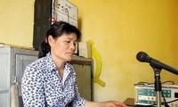 Чан Тхи Ханг идет в авангарде строительства новой деревни в провинции Хынгиен