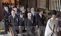 Посещение храма Ясукуни японскими руководителями вызвало большое недовольство со стороны Китая и РК