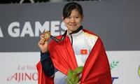 Сборная Вьетнама находится на 3-м месте в общекомандном зачёте на 29-х Играх ЮВА