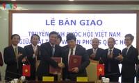 Передан парламентский телеканал «Голос Вьетнама» канцелярии Нацсобрания СРВ