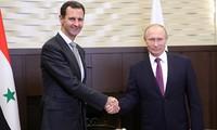 Владимир Путин и Башар Асад провели переговоры в Сочи