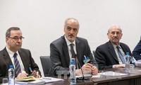 Делегация правительства Сирии вернулась в Женеву на переговоры