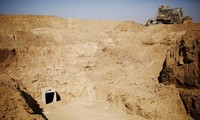 Israelis uncover new tunnel built by Hamas