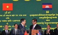 Minister of Public Security pays a working visit to Cambodia