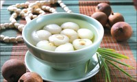 Lotus seed and Longan sweet soup