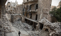 Syrian government increases airstrike against rebels in Aleppo