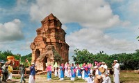 Kate festival of Cham ethnic people in Binh Thuan