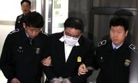 朴槿惠前首席秘书被韩国检方批捕