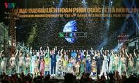 Spectaclular closing ceremony of Hanoi International Film Festival