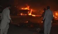 Huge blast in Pakistan kills dozens