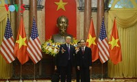 President Tran Dai Quang hosts banquet in honor of US President Donald Trump