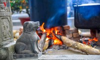 Painter Thanh Chuong: Vietnamese stone dog sculpture is simple