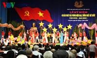 Президент СРВ принял участие в праздновании Дня воссоединения страны в Лонгане