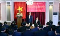 Нгуен Тан Зунг встретился с представителями вьетнамских предприятий в Казахстане