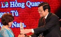 Церемония вручения премий за лучшие журналистские произведения 2014 года