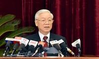 В Ханое прошел первый день работы 14-го пленума ЦК КПВ 11-го созыва