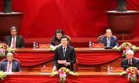 Пресс-релиз второго дня работы 12-го съезда Компартии Вьетнама