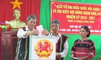 В некоторых районах Вьетнама состоялось раннее голосование