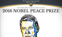 Президент Колумбии получил Нобелевскую премию мира 2016 года