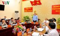 Глава ОФВ провёл рабочую встречу с руководством провинции Биньтхуан