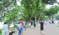 Пешеходное пространство в Ханое